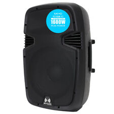 "Pro Rs1500a 15"" Inch Active 1600w 2-way DJ Disco PA Club Loud Speaker *"