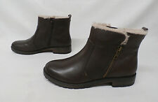 Naturalizer Women's Tamsie Ankle Boots Oxford Brown Leather MM1 Size 8M $139