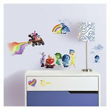 DISNEY INSIDE OUT FEELINGS EMOTIONS JOY ANGER ROOMMATES REMOVABLE WALL STICKERS