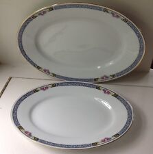 THOMAS WINDSOR PLATTER SET OF 2 EXCELLENT CONDITION!