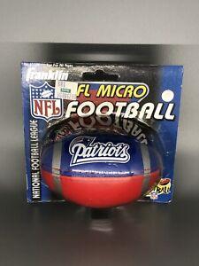 1998 VINTAGE NFL MICRO FOOTBALL New England Patriots New ON CARD Franklin