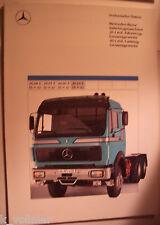 ✪ vecchia prospetto Originale Mercedes-Benz autoarticolati macchina 2644 S (6x4)