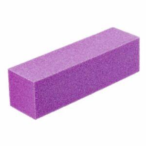 Nail Sanding Block 3-Pack - Shape, Buff, & Smooth Nails - Nail Buffer - 3 Colors