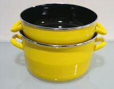 Baumalu 312869 Muscheltopf, 24 cm, Gelb *mit Mängeln* (B597-R14)