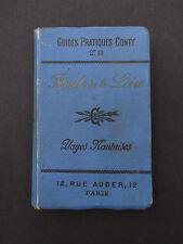 RARE GUIDE CONTY PLAGES NANTAISES NANTES LOIRE pub MENIER avec ses cartes 1897