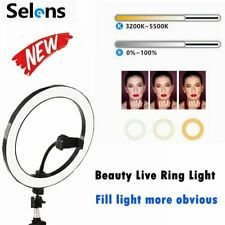 Studio LED Ring Light 26cm Fill Light For Portrait Anchor Live Video Shooting