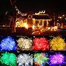 100-600 LED Lichterkette Weihnachtsbeleuchtung Hochzeit Party Garten Lamp Dekor