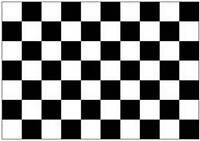 BLACK & WHITE CHECKERED FORMULA 1 F1 LARGE FLAG 5X3FT 5'X3' EYELETS FOR HANGING