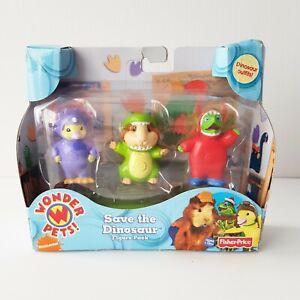 Rare Fisher Price Wonder Pets Save the Dinosaurs Figure Pack Nickelodeon 2008