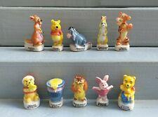 Série complète de fèves WINNIE L'OURSON 2002 Disney * 70