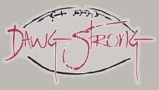 Georgia Bulldogs Rare Graphic Decal Sticker DAWG STRONG UGA FREE SHIPPING
