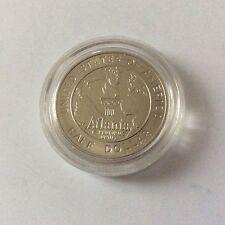 Pièce d'un 1/2 dollar Jeux Olympiques Atlanta USA 1995 Baseball FDC