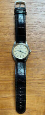 Vintage 1959's Rolex Oyster Perpetual Auto Leather Band Men's Watch 6564