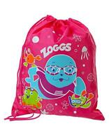 Zoggs Kids Swim Ruck Sack For Wet Clothes And Towels Pool Bag After Swimming