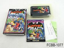Complete Red Arremer 2 II Famicom Japan Import Boxed FC NES Gargoyle's Quest J B