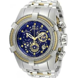 Invicta Reserve Bolt Zeus 30067 Mens Crystals Two-Tone Cable Chronograph Watch