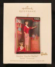 Hallmark: STUDENT TEACHER BARBIE Ornament - Dated 2012