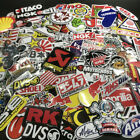 Lot Set of 120 Motorcycle Motocross Decals Stickers Racing ATV UTV Dirtbike