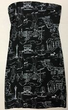 WOMEN'S DRESS ANONYMOUS SIZE 5 DESIGNER VERY STRETCH ROCK N ROLL ARTSY RATROD
