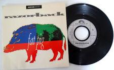 Razorback fat Pig house musi 45T 1988-promo French vinyl Mint /Mint unplayed