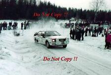 Hannu Mikkola Audi Quattro A1 Winner Swedish Rally 1983 Photograph 2