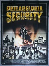 Affiche PHILALDELPHIA SECURITY Fighting Back TOM SKERRITT Patti Lupone 120x160 *