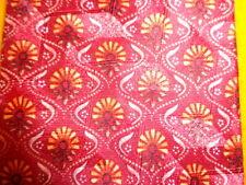 "ERMENEGILDO ZEGNA ~ MENS SILK DRESS SHIRT SUIT TIE ~ RED ORANGE FLORAL ~ 57"""
