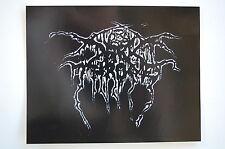 """Dark Throne Sticker Decal Bumper Window Black Metal Indoor/Outdoor 5""""X4.5"""" (284)"""