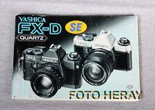 Yashica FX-D Quartz le istruzioni tedesco U. altre lingue 02232
