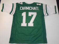 UNSIGNED CUSTOM Sewn Stitched Harold Carmichael Green Jersey - 3XL