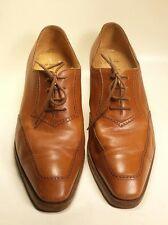 Gravati per Neiman Marcus Tan Lace Up Oxford Dress Shoes Women's Size 9 M