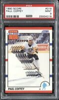 Paul Coffey 1990 Score Hockey # 319 PSA 9 Mint
