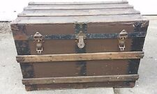 Antique Henry Likly Steam Trunk Rochester