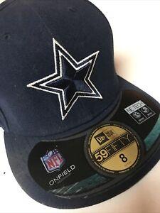 Dallas Cowboys NFL New Era 59Fifty Cap/Hat Sz. 8 New