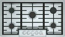 New listing Bosch 800 Series 36-in 5 Burners Stainless Steel Gas Cooktop