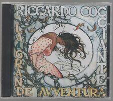 RICCARDO COCCIANTE LA GRANDE AVVENTURA CD SIGILLATO!!!