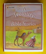 Treasury Of Bible Stories Golden Book Children's Illustrated New Old Testament