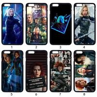 Avengers Black Widow For iPhone iPod Samsung LG Motorola SONY HTC HUAWEI Case