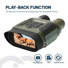 "7X31 Digital Night Vision Binocular Scope with 2"" TFT LCD and 32GB TF Card"