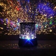 New Star Light Projector Night Sky LED Master Mood Lamp Space Stars Moon Kids UK