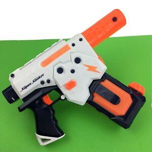 Nerf Super Soaker Thunderstorm Water Pistol Squirt Motorized Kids Play Fun Gun