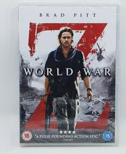 World War Z Brad Pitt Dvd 2013 Horror UK