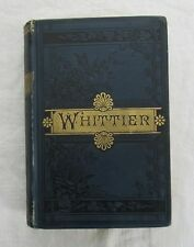 The Early Poems of John Greenleaf Whittier 1887 Hardcover
