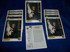 Lot of 10 - 1991-92 Upper Deck #69 Glen Murray RC : Boston Bruins