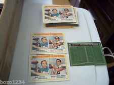 45 1978 TOPPS FOOTBALL CARD 331 77 NFL PASSING LEADERS BOB GRIESE ROGER STAUBACH