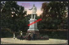 Wiesbaden-Kaiser Wilhelm Denkmal-Kunstkarte-Feldpost-Darmstadt-Hessen-21