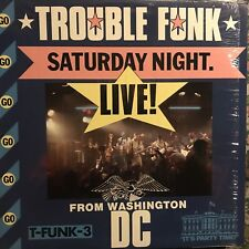 TROUBLE FUNK • Saturday Night Live From Washington DC • Vinile LP • 1983 ISLAND