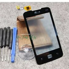 Front Glass Screen Touch Digitizer for LG LG Optimus Hub E510 with Tools Black