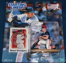Nomar Garciappara 2000 Mlb Starting Lineup Boston Red Sox - Los Angeles Dodgers