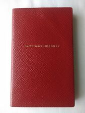 SMYTHSON PANAMA 'NOTTING HILLBILLY' NOTEBOOK in Blood Red RRP £45.00 BN